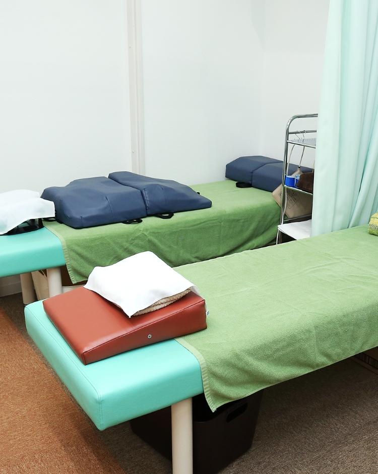 接骨院で交通事故に遭われた方の施術が可能です